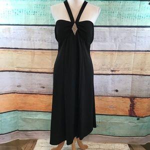Bisou Bisou Black Dress, Size 12